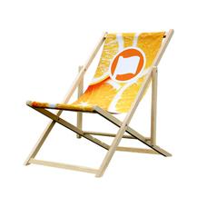 Strandstoel zonder leuning