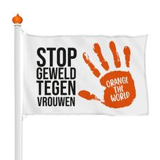 Orange the World vlag