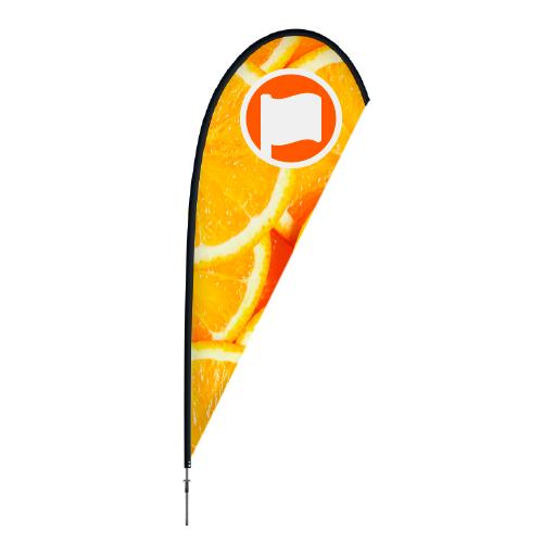 Beachflag Druppel Large